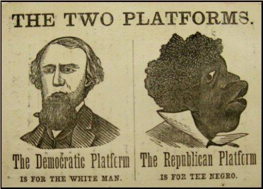 Actual Democrat Party campaign poster