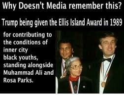Trump and Rosa Parks